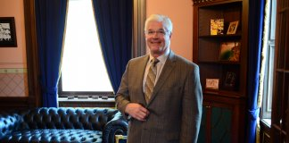 Senate Majority Leader Mike Shirkey