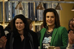 Gretchen Whitmer and Dana Nessel