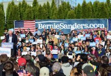 Sanders' Warren, MI event