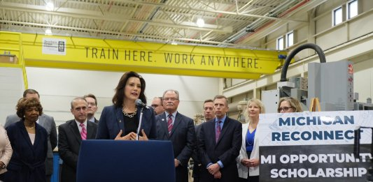 Gov. Whitmer at LCC